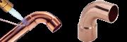 Měděné a bronzové tvarovky - pájecí