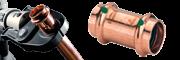 Měděné a bronzové tvarovky - lisovací