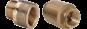 Mosazné a bronzové závitové tvarovky