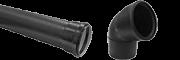 Silent-PP systém pro vnitřní odpady