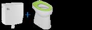 Stojící WC komplety