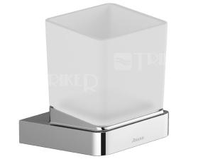 10° držák s pohárkem TD 210.00 sklo/chrom
