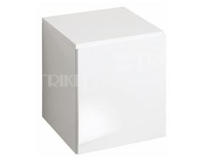 4U skříňka postranní nízká 40 x 43,5 cm s dvířky