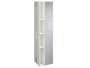 4U skříňka vysoká se zrcadlovými dvířky