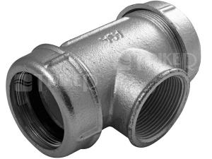 AGA T-kus svěrný litinový s vnitřním závitem TK 1/2