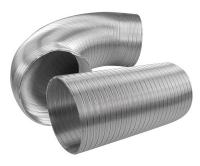 AL flexo potrubí Haco 75 x 1000 mm, 636, Haco
