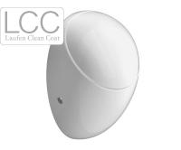 Alessi One pisoár s krytem s muškou bílý+LCC, H8409714004151, Laufen