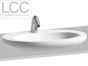 Alessi One umyvadlová mísa 75 cm s otvorem bílá+LCC
