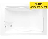 Amore vana akrylátová 180 x 120cm, bílá, 9720000, Roltechnik