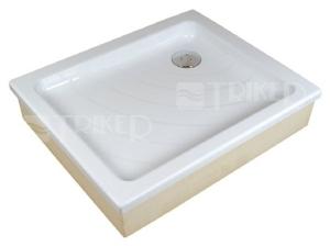 Aneta EX vanička akrylátová samonosná 90 x 75 x 18,5cm, bílá
