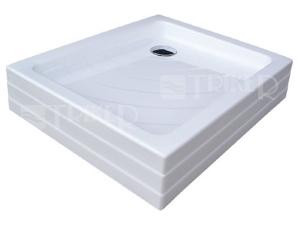 Aneta PU vanička akrylátová samonosná 90 x 75 x 18,5cm, bílá