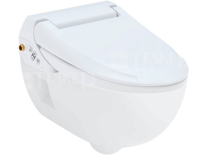 AquaClean 4000 klozet závěsný se sprchovacími funkcemi, bílý