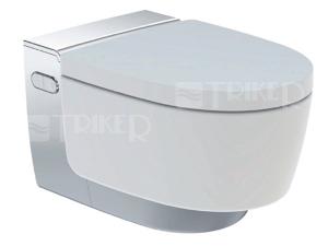 AquaClean Mera Classic klozet závěsný se sprchovacími funkcemi, bílý/lesklý chrom