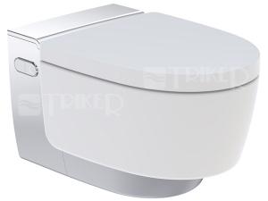 AquaClean Mera Comfort klozet závěsný se sprchovacími funkcemi, bílý/lesklý chrom