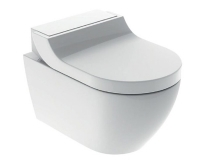 AquaClean Tuma comfort bidetovací sedátko/klozet závěsný, alpská bílá, 146.292.11.1, Geberit