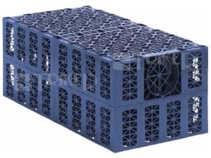 Azura akumulační box 1000 x 500 x 400 mm DN160, 200l