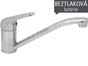 BE dřezová baterie stojánková BE.1840.AA páková pro beztlakové ohřívače