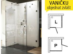 BSDPS sprchové dveře+stěna
