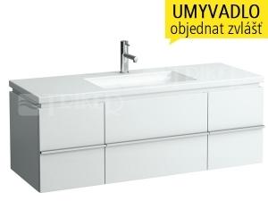 Case for Living skříňka 129 cm 1zásuvka/bílá
