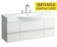 Case for Palace skříňka se 2 zásuvkami a 2 dvířky pod umyvadlo 120 x 51 cm bílá, H4013020754631, Laufen