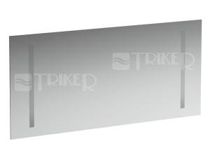 Case zrcadlo s osvětlením 2 x 14W 130 x 62 cm