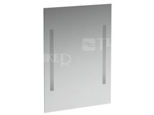 Case zrcadlo s osvětlením 2 x 14W 60 x 85 cm