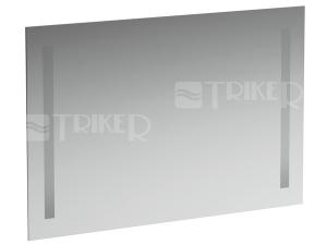 Case zrcadlo s osvětlením 2 x 14W 90 x 62 cm