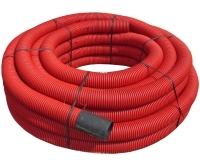 Chránička kabelová červená korugovaná 125/105mm (svitek 25m), 562.27.125, Fränkische