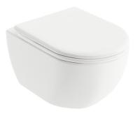 Chrome UNI klozet závěsný 51 cm, bílý, X01516, Ravak