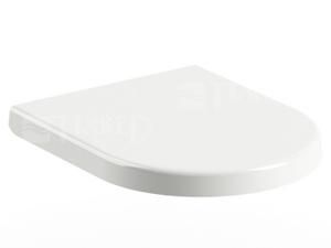 Chrome UNI sedátko 02A se zpomalovacím mechanismem, bílé