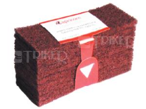 Čistící rouno červené (balení 10 ks)
