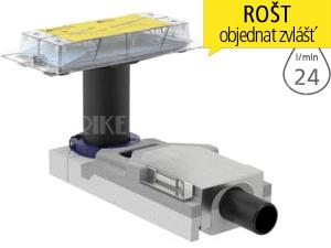 CleanLine souprava pro hrubou montáž sprchového kanálku, pro podlahy 65-90mm, odpad 40mm