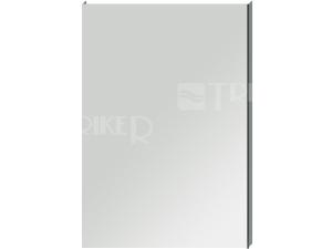 Clear zrcadlo na hliníkovém rámu bez osvětlení 55 x 81 cm