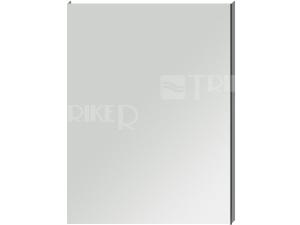 Clear zrcadlo na hliníkovém rámu bez osvětlení 60 x 81 cm