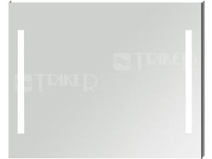Clear zrcadlo s integrovaným LED osvětlením 100 x 81 cm