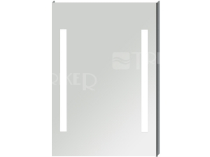 Clear zrcadlo s integrovaným LED osvětlením 55 x 81 cm