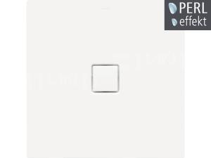 Conoflat vanička ocelová 3,5 mm 90 x 110 x 2,3 cm 788-1, bílá + Perl-Effekt