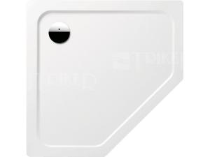 Cornezza 25 vanička ocelová 3,5 mm 100 x 100 x 2,5 cm 672-1, bílá