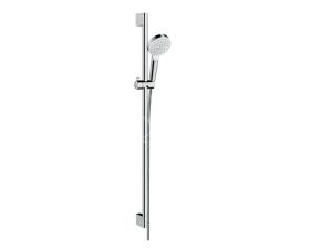Crometta 100 vario sprchový set 0,65 cm, bílá/chrom