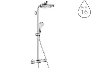 Crometta S Showerpipe 240 mm