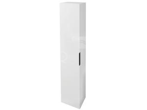 Cube skříňka vysoká 32 x 170 x 25,1 cm bílá, úchytky antracit