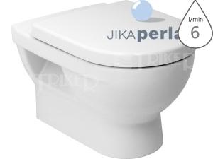 Cubito klozet závěsný 56cm hluboké splachování bílý/PERLA
