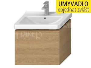 Cubito-N skříňka pod umyvadlo 60 cm 1 zásuvka, dub