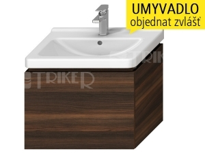 Cubito-N skříňka pod umyvadlo 65 cm 1 zásuvka, tmavá borovice