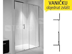 Cubito pure sprchové dveře