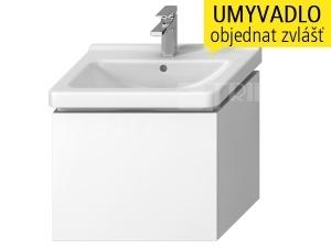 Cubito skříňka s 1 zásuvkou pod umyvadlo 60 x 45 cm, bílá