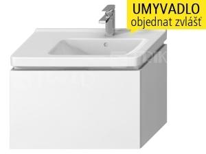 Cubito skříňka s 1 zásuvkou pod umyvadlo 75 x 45 cm, bílá