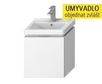 Cubito skříňka s 1 zásuvkou pod umývátko 45 x 34 cm, bílá, H40J4213015001, Jika
