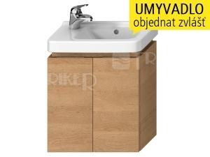 Cubito skříňka se 2 dveřmi pod umývátko 45 x 25 cm, dub