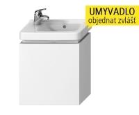 Cubito skříňka výklopná pod umývátko 45 x 25 cm, bílá, H40J4201005001, Jika